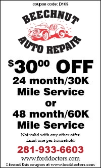 24/48 Month Service Coupon